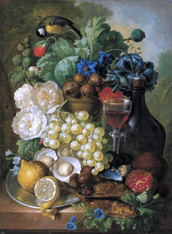 Still-Life by Jan Van Os - Hand Painted Oil Painting