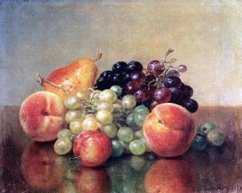 An Arrangement of Fruit by Robert Spear Dunning - Hand Painted Oil Painting