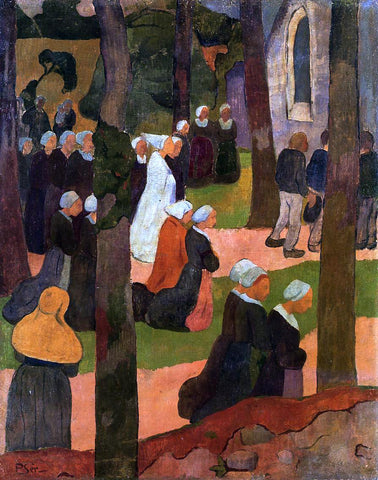 Paul Serusier A Breton Sunday - Hand Painted Oil Painting
