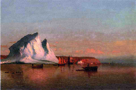 William Bradford A Calm Afternoon, the Coast of Labrador - Hand Painted Oil Painting