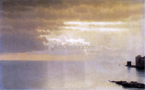 William Stanley Haseltine A Calm Sea, Mentone - Hand Painted Oil Painting