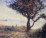Alfred Sisley Cardiff Shipping Lane - Hand Painted Oil Painting