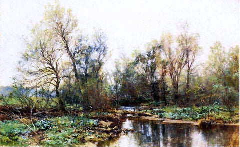 Hugh Bolton Jones A Clear Stream - Hand Painted Oil Painting