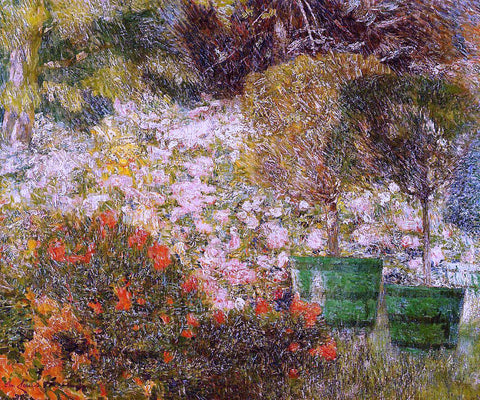 Emile Claus A Corner of My Garden - Hand Painted Oil Painting