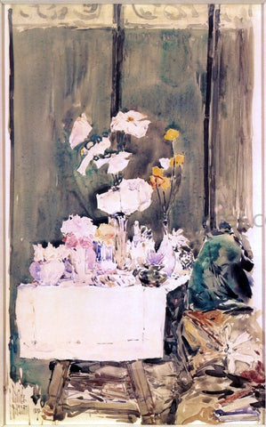 Frederick Childe Hassam Favorite Corner - Hand Painted Oil Painting