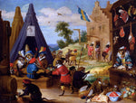 The Younger David Teniers A Festival Of Monkeys - Hand Painted Oil Painting
