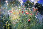 Ross Turner A Garden in a Sea of Flowers - Hand Painted Oil Painting