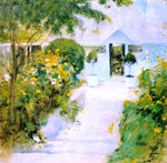 John Twachtman A Garden Path - Hand Painted Oil Painting