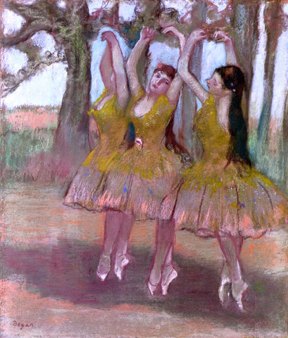 Edgar Degas A Grecian Dance - Hand Painted Oil Painting