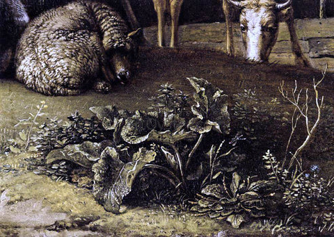 Paulus Potter Husbandman with His Herd (detail) - Hand Painted Oil Painting