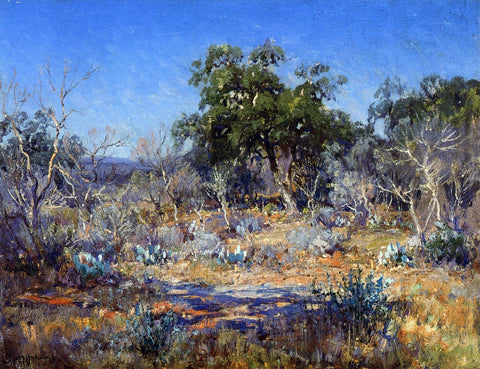 Julian Onderdonk A January Day in the Brush Country - Hand Painted Oil Painting