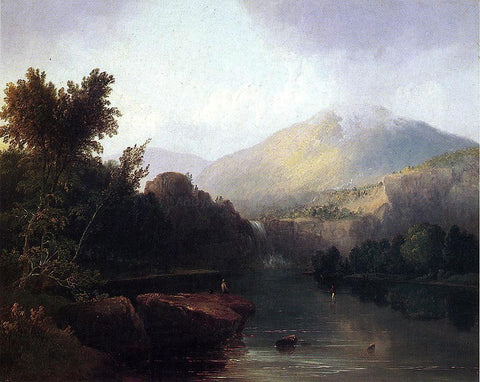 Thomas Doughty A Lake in the White Mountains - Hand Painted Oil Painting