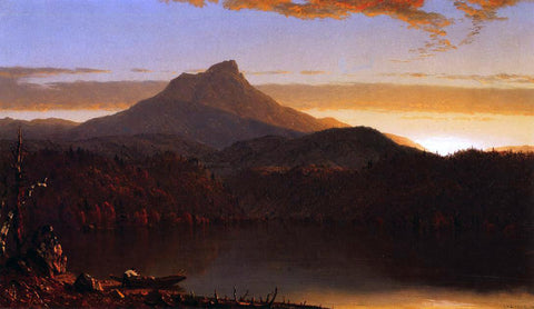Sanford Robinson Gifford A Lake Twilight - Hand Painted Oil Painting