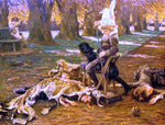 James Tissot A Little Nimrod - Hand Painted Oil Painting