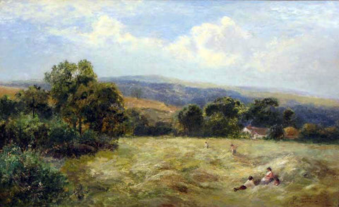 George Turner A Mid-day Rest - Hand Painted Oil Painting
