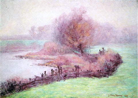 John Ottis Adams A Misty Morning on the Mississinewa - Hand Painted Oil Painting