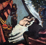 Paul Cezanne A Modern Olympia (Pasha) - Hand Painted Oil Painting