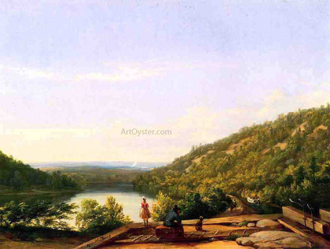 Thomas Worthington Whittredge A New Land - Hand Painted Oil Painting