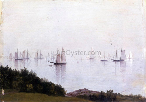 John Frederick Kensett A Newport Afternoon - Hand Painted Oil Painting