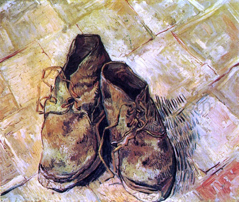 Vincent Van Gogh A Pair of Shoes - Hand Painted Oil Painting
