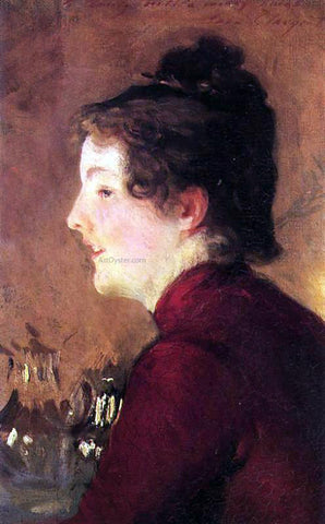 John Singer Sargent A Portrait of Violet - Hand Painted Oil Painting