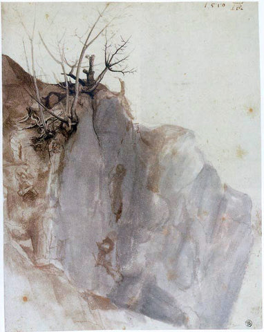 Albrecht Durer Quarry - Hand Painted Oil Painting