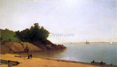 John Frederick Kensett A Quiet Day on the Beverly Shore - Hand Painted Oil Painting