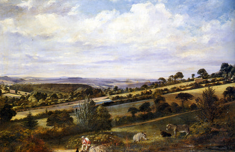 William Frederick Witherington A Rest in a Fertile Valley - Hand Painted Oil Painting