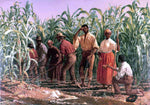 Thomas Waterman Wood A Southern Cornfield, Nashville, Tennessee - Hand Painted Oil Painting
