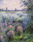 Claude Oscar Monet A Spot on the Banks of the Seine - Hand Painted Oil Painting