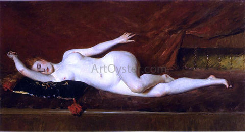 William Merritt Chase A Study in Curves - Hand Painted Oil Painting
