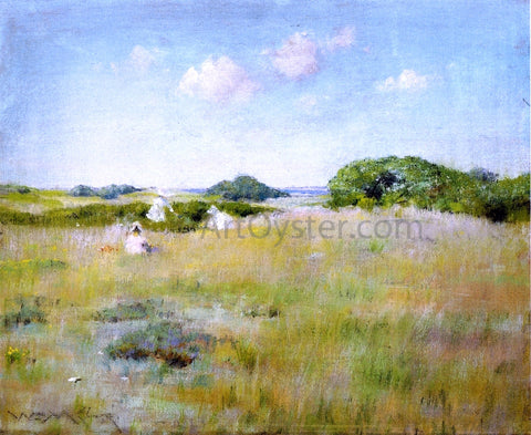 William Merritt Chase A Summer Day - Hand Painted Oil Painting