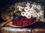 August Laux A Summer Still Life - Hand Painted Oil Painting