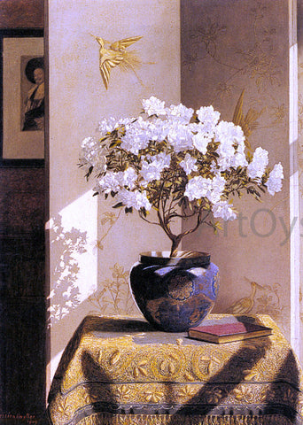 Jessica Hayllar A Sunny Corner - Hand Painted Oil Painting