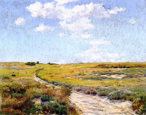 William Merritt Chase A Sunny Afternoon, Shinnecock Hills - Hand Painted Oil Painting