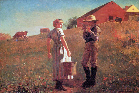Winslow Homer A Temperance Meeting (also known as Noon Time) - Hand Painted Oil Painting