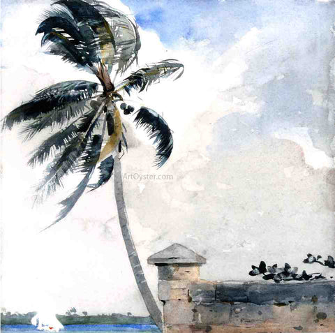 Winslow Homer A Tropical Breeze, Nassau - Hand Painted Oil Painting