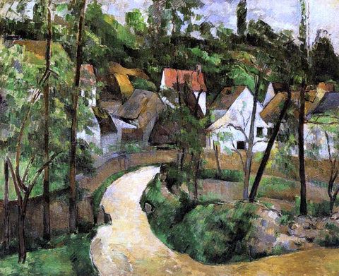Paul Cezanne A Turn in the Road - Hand Painted Oil Painting