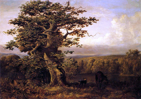William Holbrook Beard A View in Virginia - Hand Painted Oil Painting