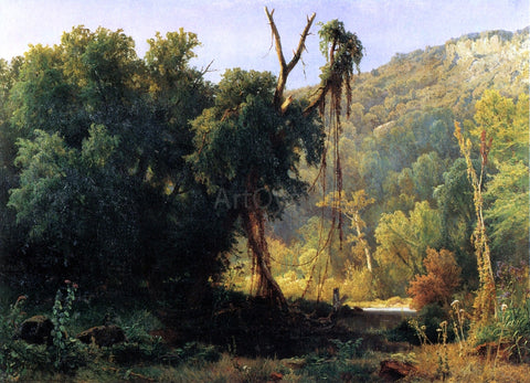 Jacobus Nicolaas Tjarda Starckenborgh  Van Stachouwer A West Virginia Forest - Hand Painted Oil Painting