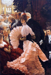 James Tissot A Woman of Ambition - Hand Painted Oil Painting