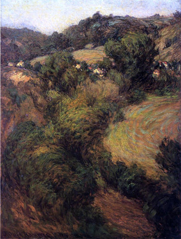 John Ottis Adams Across the Valley - Hand Painted Oil Painting
