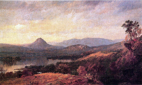 Jasper Francis Cropsey Adam and Eve Mountains - Hand Painted Oil Painting
