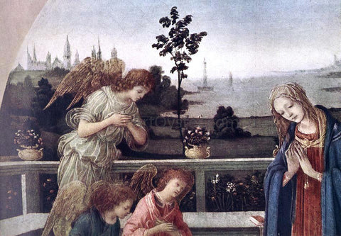 Filippino Lippi Adoration of the Child [detail: 1] - Hand Painted Oil Painting