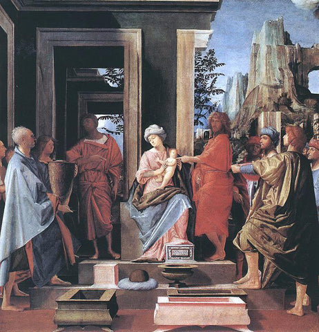 Bramantino Adoration of the Magi - Hand Painted Oil Painting
