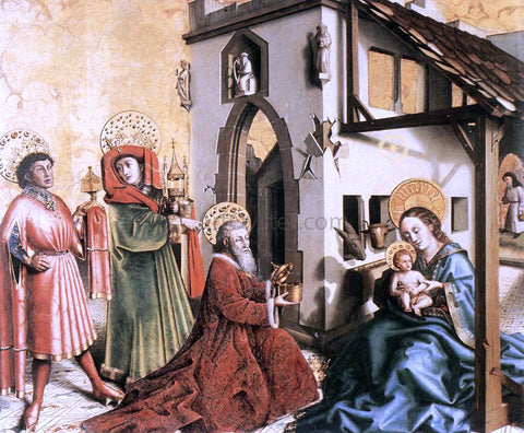 Konrad Witz Adoration of the Magi - Hand Painted Oil Painting