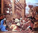 Nicolas Poussin Adoration of the Magi - Hand Painted Oil Painting