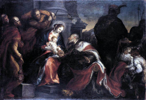 Francisco Camilo Adoration of the Magi - Hand Painted Oil Painting