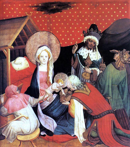 Master Francke Adoration of the Magi - Hand Painted Oil Painting