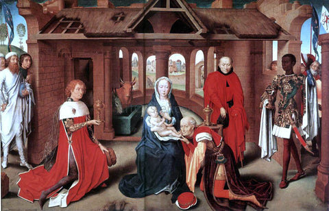 Hans Memling Adoration of the Magi - Hand Painted Oil Painting